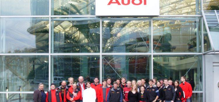 Vereinsausflug zu Audi