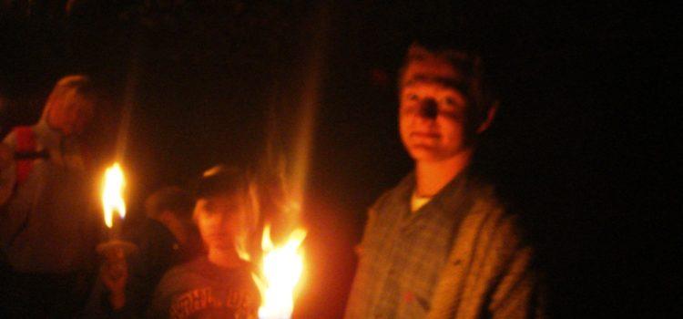 Nachtwanderung am 13.08.2008