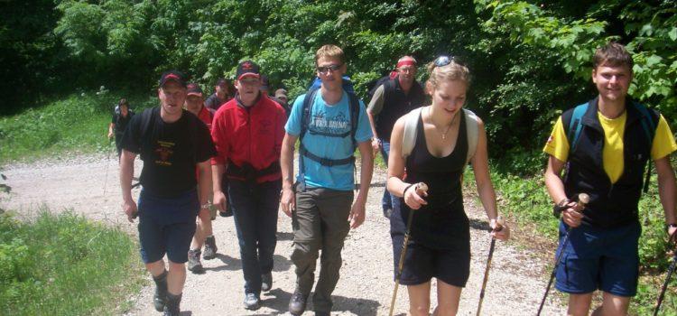 Wandertag der Maserer-Pass 2009