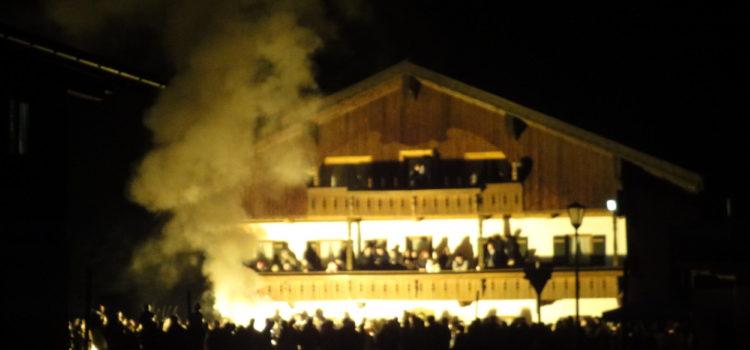 Lauf in Hinterwössen am 28. November 2009