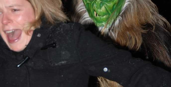Kramperllauf am 19. Dezember 2009 in Reit im Winkl + DTM-Weihnachtsfeier/ Hindenburghütte
