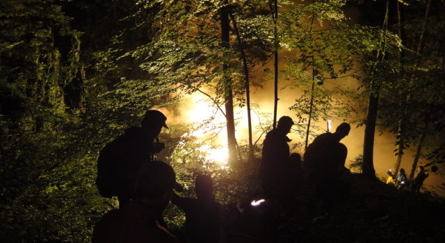 Nachtwanderung am 11. August 2010