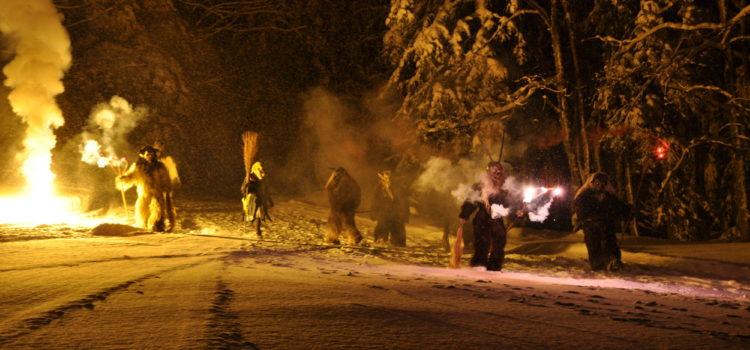 Weihnachtsfeier auf der Hindenburghütte am 17.Dezember 2010