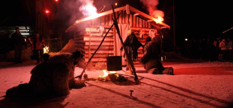 Krampuslauf in Reit im Winkl am 18.Dezember 2010