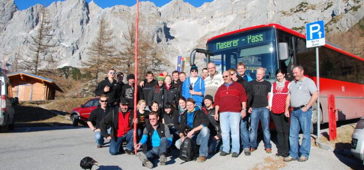 Vereinsausflug vom 26. November bis 27. November 2011