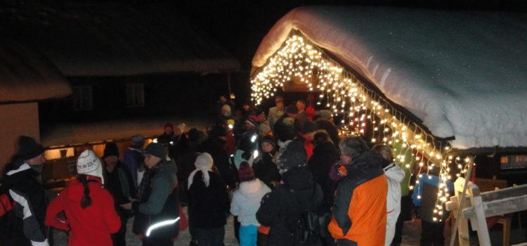 Rauhnacht auf der Hindenburghütte am 20. Dezmber 2012