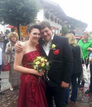 Hochzeit von Tina & Stefan Treml am 11. Juli 2014